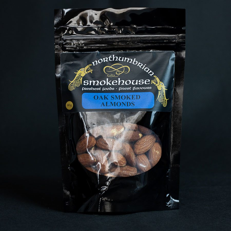 Oak Smoked Almonds