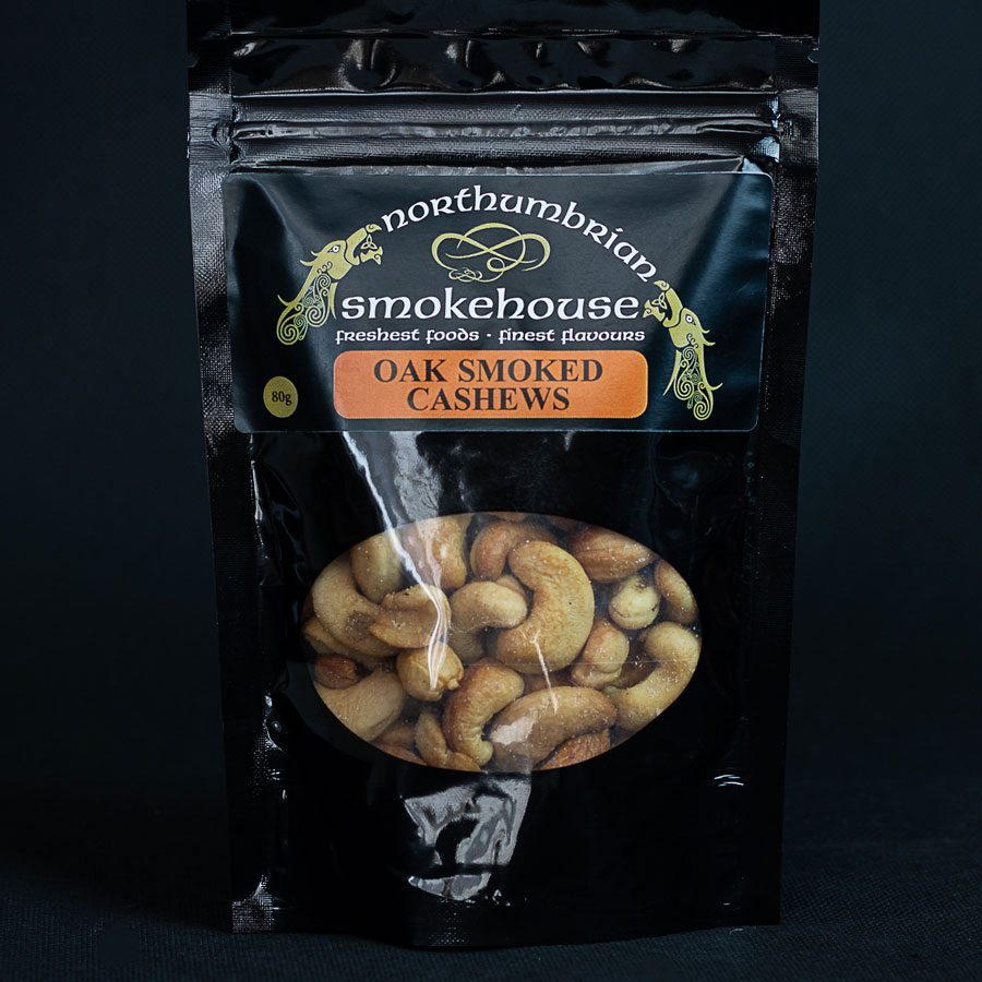 Oak Smoked Cashew Nuts