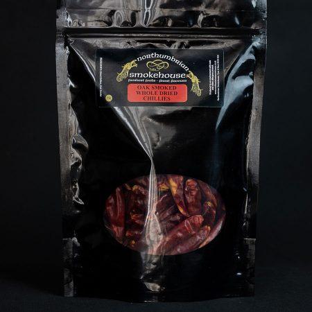 Oak Smoked Whole Dried Chillies