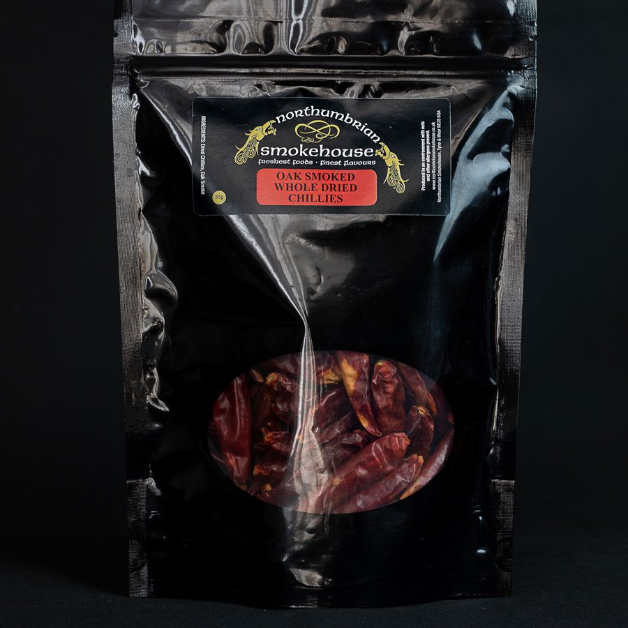 Oak Smoked Whole Dried Chillies