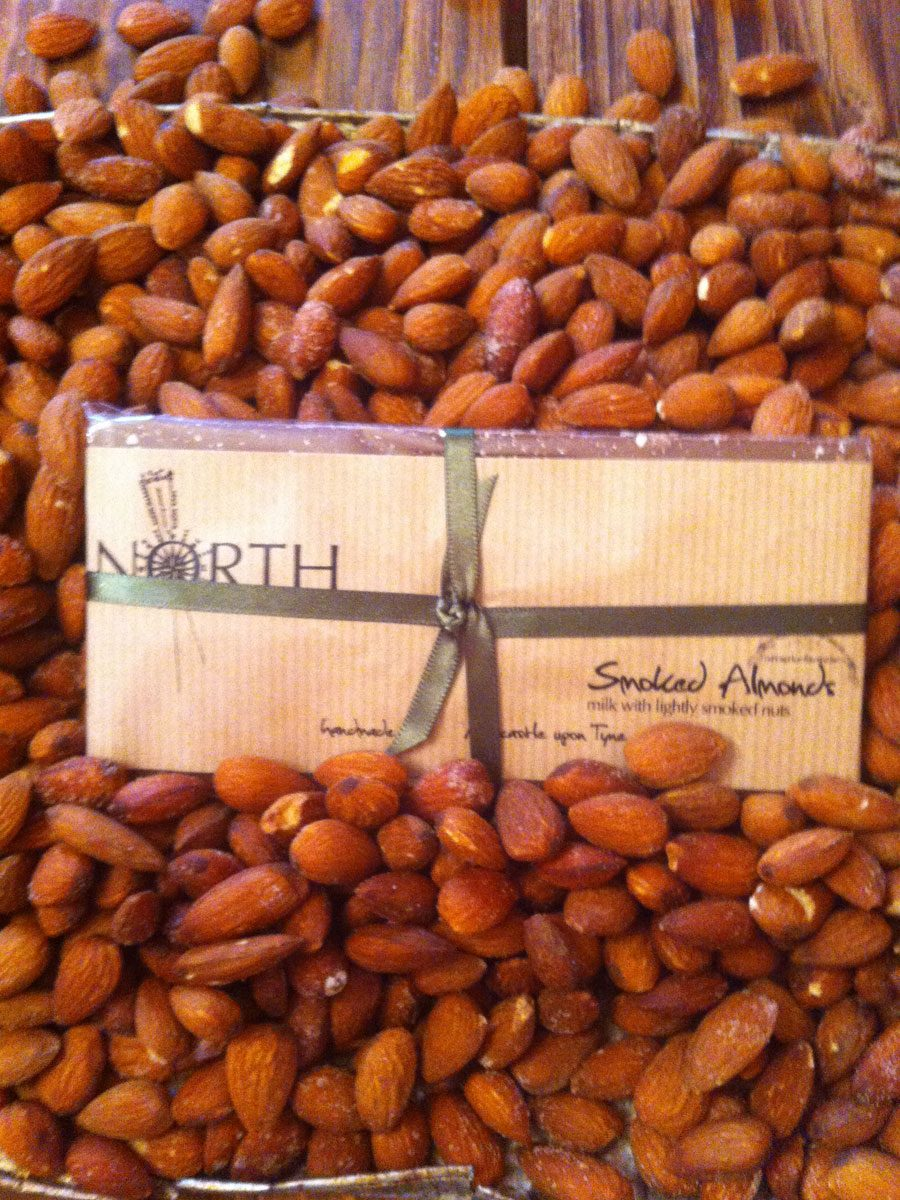 North Chocolate Smoked Almonds