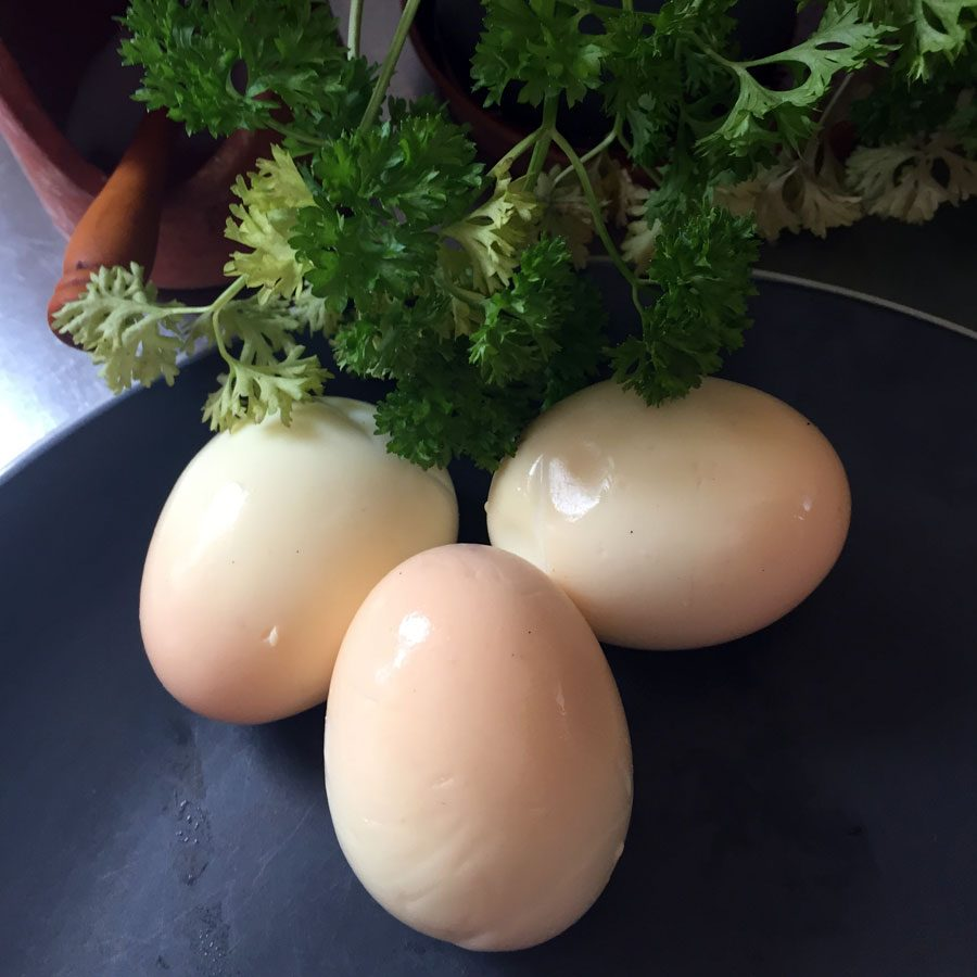 Free Range Smoked Eggs