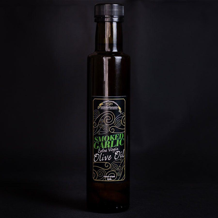 Smoked Garlic Extra Virgin Olive Oil